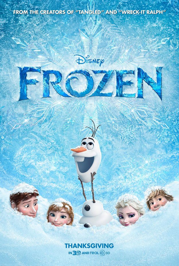 Frozen Poster: Disney's Icy Adventure