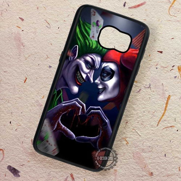 Villain Couple in Love Harley Joker - Samsung Galaxy S7 S6 S5 Note 7 Cases & Covers