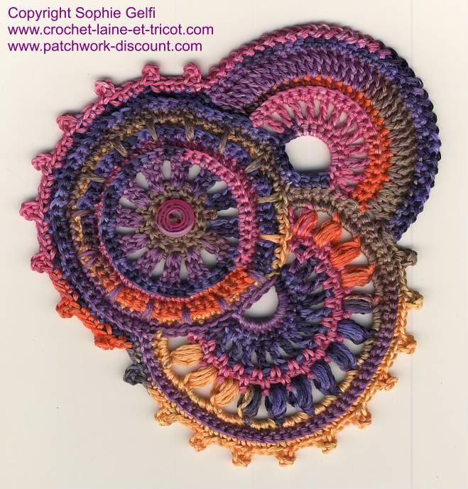 Freeform crochet tutorial for beginners
