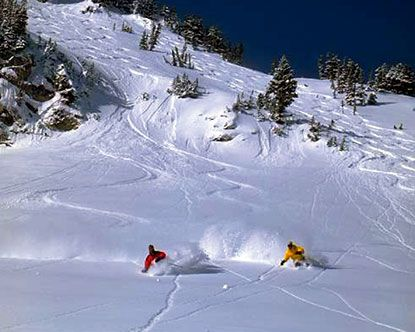 """Alta, Utah. If you like POW, then this is the best!  There is a reason why the Utah license plates say, """"the best snow on earth""""!"""