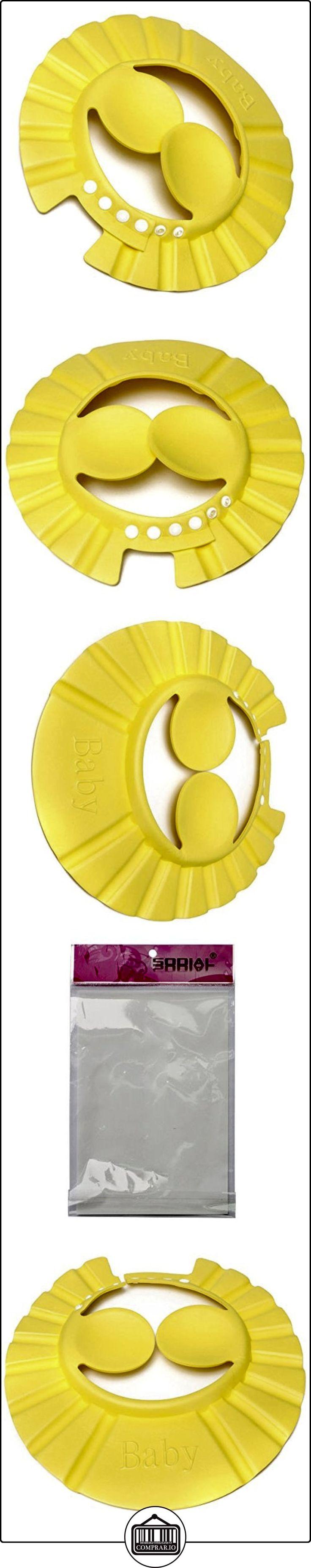 Gorro de ducha del bano - SODIAL(R) Gorro de ducha del bano para lavar el pelo con champu para bebes infantiles ninos y muchachos amarillo  ✿ Seguridad para tu bebé - (Protege a tus hijos) ✿ ▬► Ver oferta: http://comprar.io/goto/B01EIYHY3Y