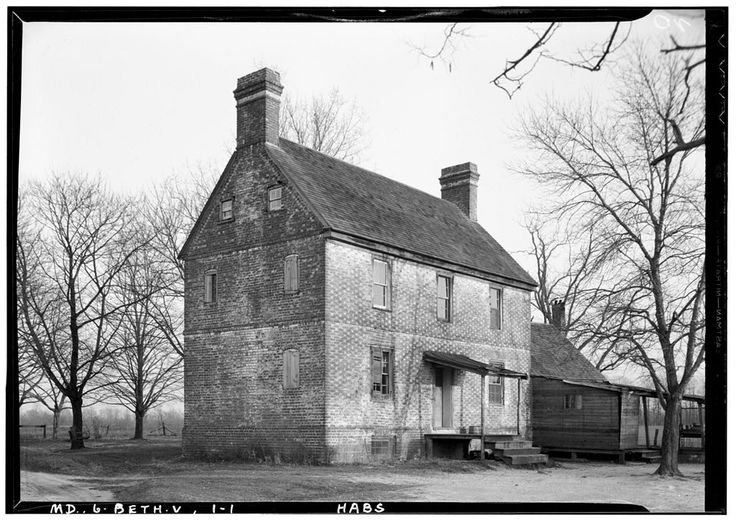 White Marsh Farm, State Route 328, Bethlehem, Caroline County, MD   Library of Congress