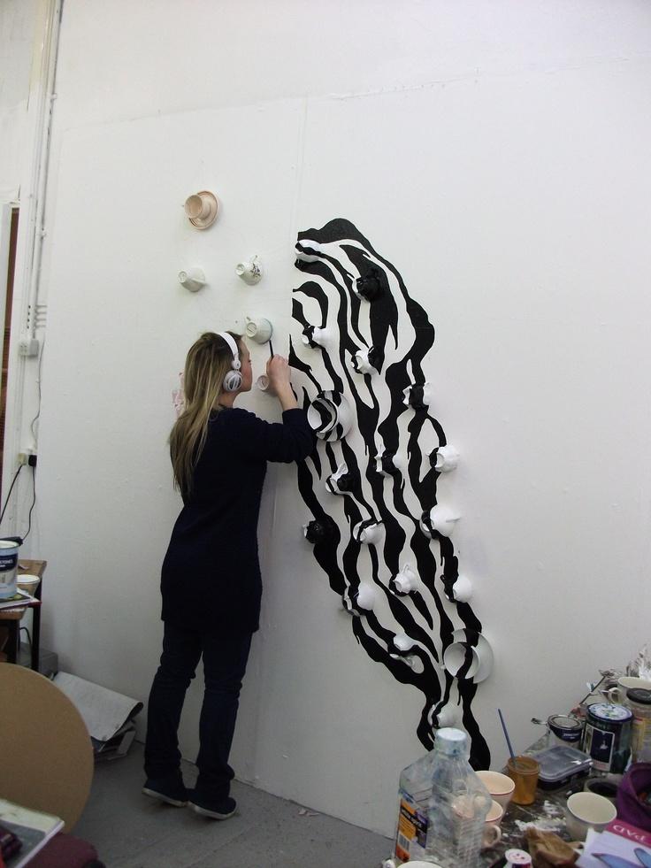 Spilled zebra