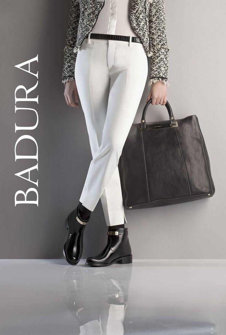 Marka Badura nie zapomniała także o mocnych akcentach ozdabiających linię nowych modeli butów. Dzięki nim, zarówno kozaki jak i botki stanowią ultra kobiecą propozycję.