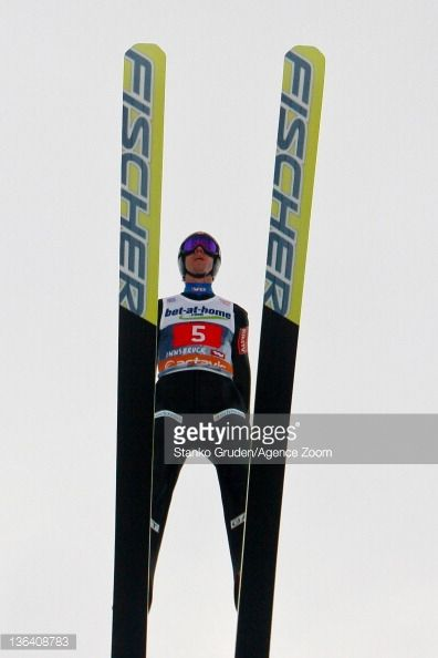Anders Bardal of Norway in actiom during the FIS Ski Jumping World Cup Vierschanzentournee on January 4 2012 in Innsbruck Austria