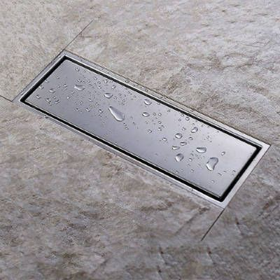 KES SUS304 Stainless Steel Shower Floor Drain With Removable Cover