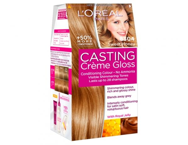 casting crme gloss 8304 sweet honey by loral paris - Coloration Casting