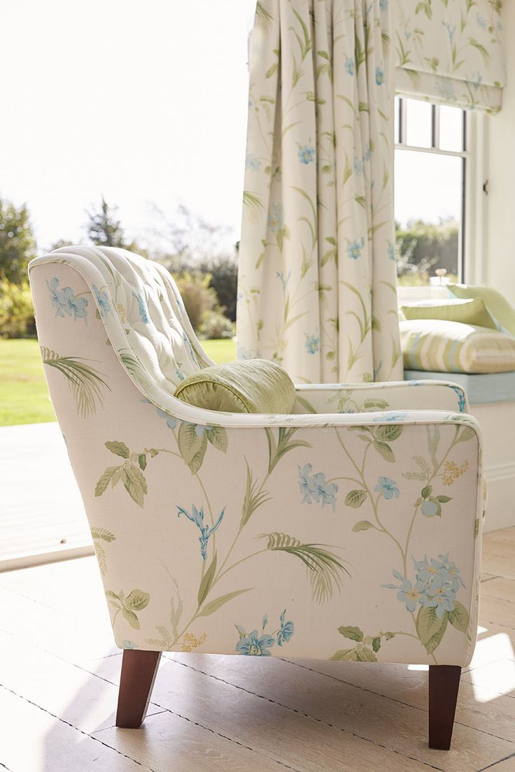 The perfect summer armchair from Laura Ashley.