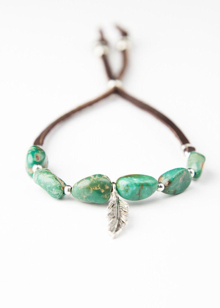 Genuine Turquoise Bracelet by SoulMakes Jewelry.com