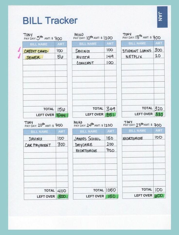 Free Budget Printables Binder 2019