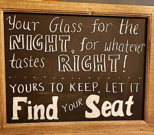Wedding Chalkboard Sign for Seating