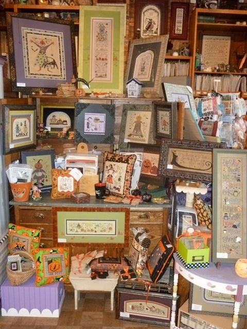 ~ Shepards Bush Cross Stitch Shop ~ Ogden, Utah....I said no businesses but this is the one exception. Terrie & Tina are amazing....