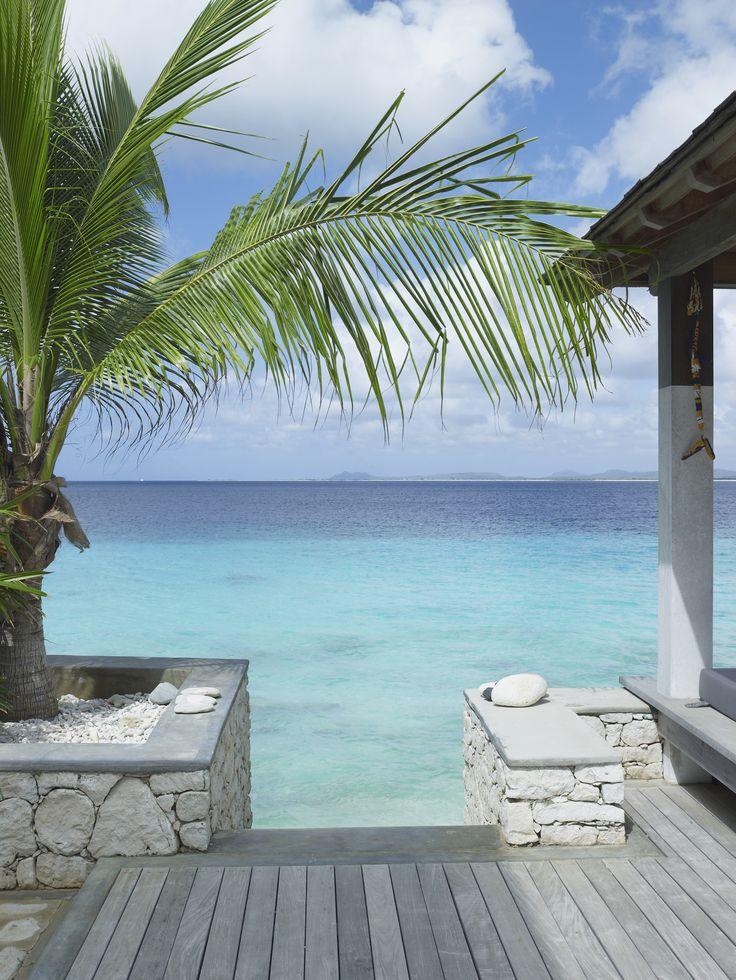 Piet Boon Styling by Karin Meyn | Carribbean beach villa view More