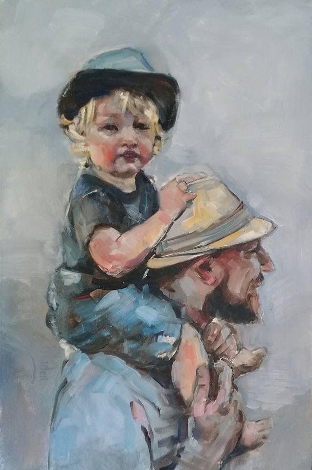 Oil on canvas by Sharleen Boaden #boadenfineart