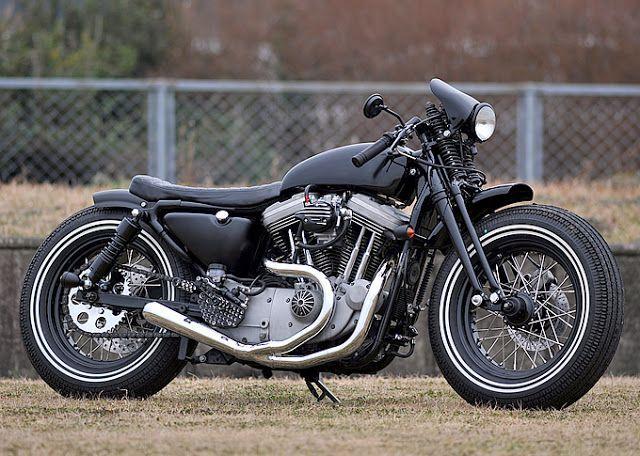 ϟ Hell Kustom ϟ: Harley Davidson Sportster 1200 by Indigo Custom Cy...