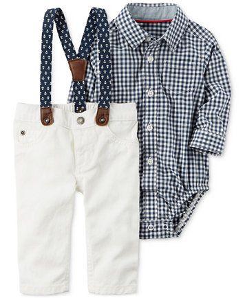 061a86b595de3 Carter's 3-Pc. Dress Me Up Set, Baby Boys (0-24 months) | macys.com ...