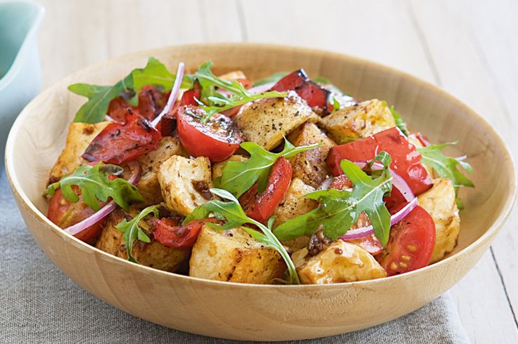 Warm Potato & Capsicum Salad
