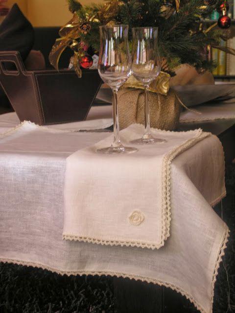 Las 25 mejores ideas sobre mantel de lino en pinterest - Manteles de lino ...