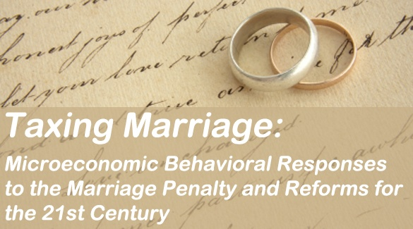 """""""Current tax policies related to marriage highlight the need for fundamental reform of the outdated, overly complex, inefficient, and inequitable tax code that hinders economic growth, diversity, and competitiveness."""": Fundamental Reform, Tax Code, Hinders Economic, Current Tax, Overly Complex, Inequitable Tax, Tax Policies, Marriage Highlight"""