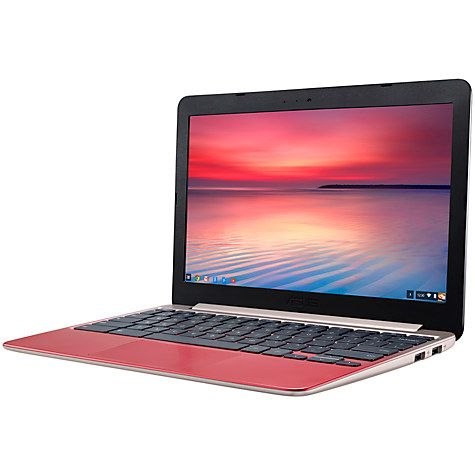 "Buy ASUS Chromebook C201PA, 2GB RAM, 16GB, 11.6"" Online at johnlewis.com"