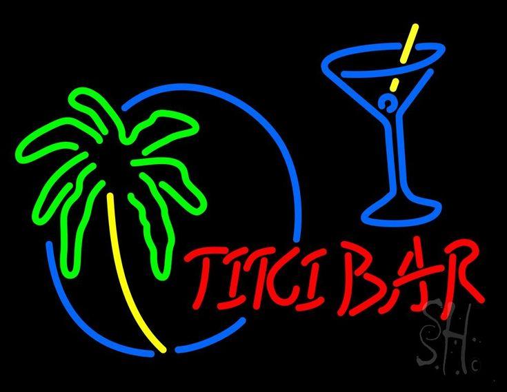 36 best Tiki Bar Neon Signs images on Pinterest | Tube