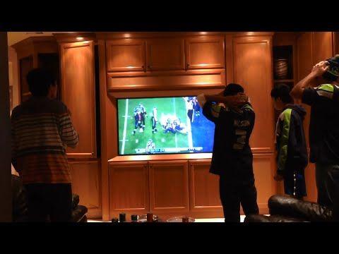 Best Fan Reactions to Patriots' game-winning interception vs Seahawks!