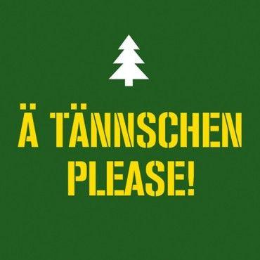 HOMEADE IN HAMBURG Kühlschrankmagnet ÄTännschen please!