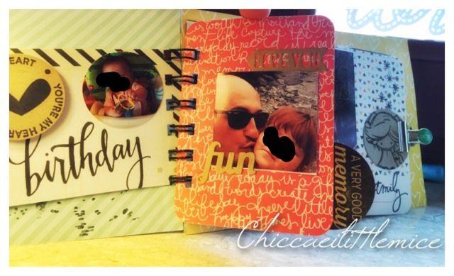 chicca craft e i little mice: Mini album