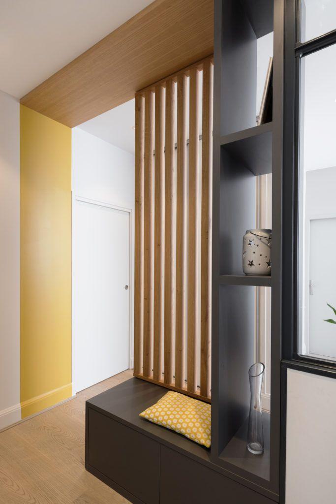 Appartement Renovation Lyon Architecte Interieur Idee Deco Entree,  Vestiaire Entrée, Decoration Entree, Deco