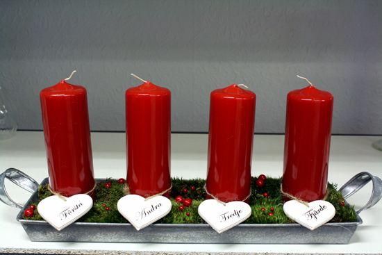 http://holmsundsblommor.blogspot.se/2012/11/adventshjartan.html Adventsljusstake med hjärtan