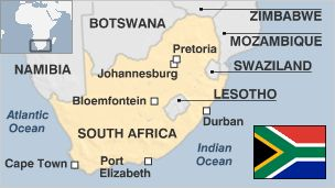 Map of South Africa.  Diversity is a key feature of South Africa, where 11 languages are recognised as official, where community leaders include rabbis and chieftains, rugby players and returned exiles, where traditional healers ply their trade around the corner from stockbrokers and where housing ranges from mud huts to palatial homes with swimming pools.