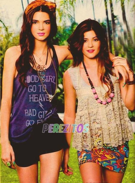 Kendall And Kylie Jenner 2000