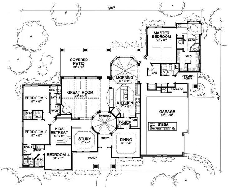 1000 images about house plans on pinterest for Danze e davis architects