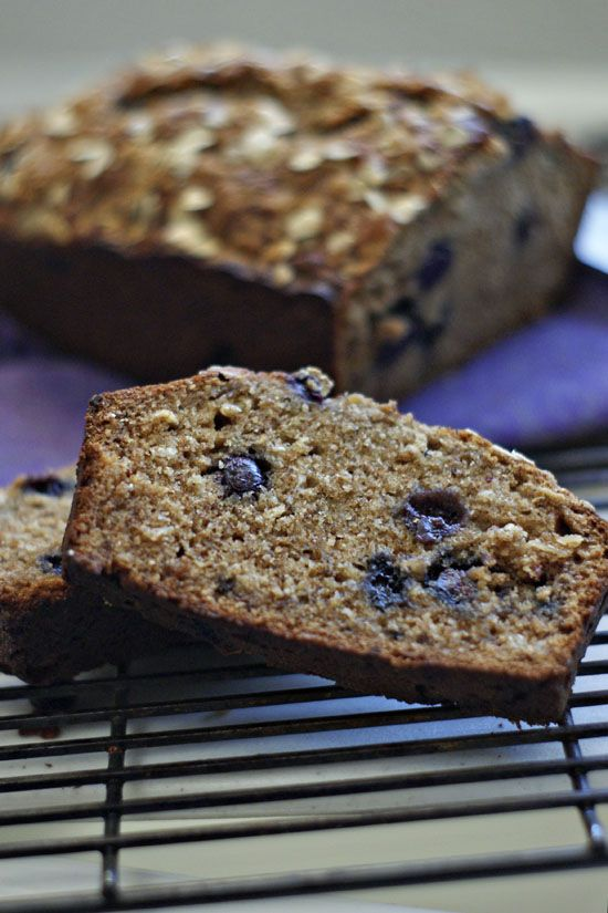 Grains For Your Brain: Whole Wheat Banana Blueberry Bread and Giveaway ...