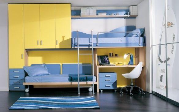 Oltre 25 fantastiche idee su letti a castello a scomparsa su pinterest piccoli letti mobili - Camere con letto a castello ...