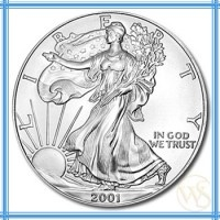 The American Eagle silver coin is the most popular coin with investors. The official coin of the US, the American Eagle is minted each year for worldwide distribution. These are highly recognizable silver coins that enjoy a huge market, making it easy to sell at any time.