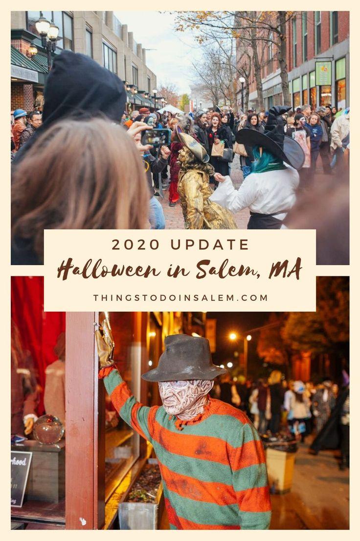 Halloween in Salem, MA 2020 update in 2020 Salem