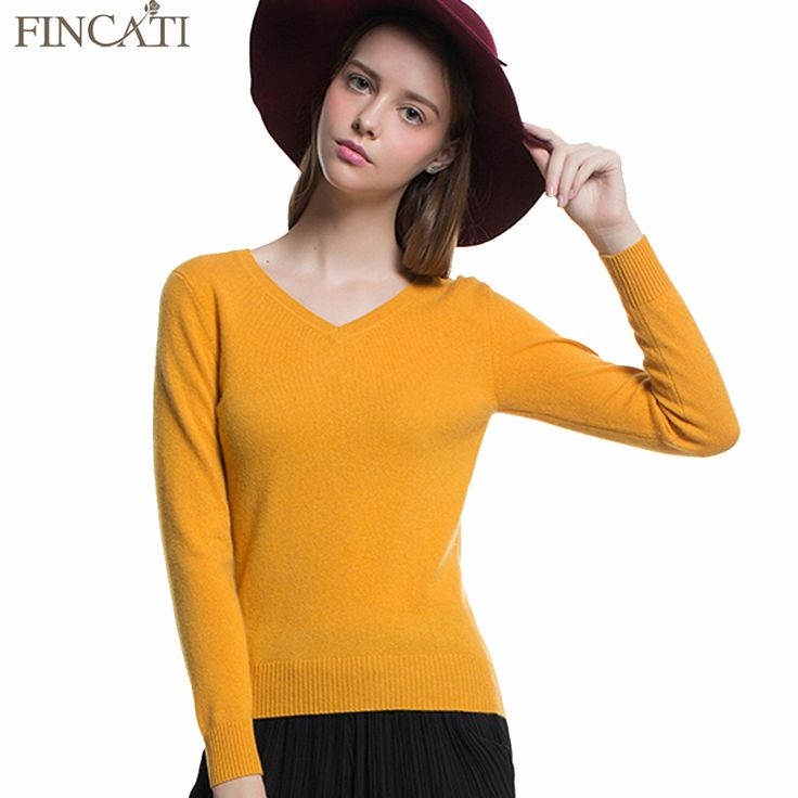 Winter Spring Sweater Pullover V-Neck Wool Cashmere Blending Sweater Top Slim Base Shirt Multicolors Sweaters Knitwear Jersey