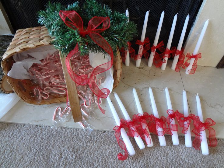 Santa Lucia day Dec. 13th. We caroled around the school with lit candles singing the Santa Lucia song and passing out candy canes.