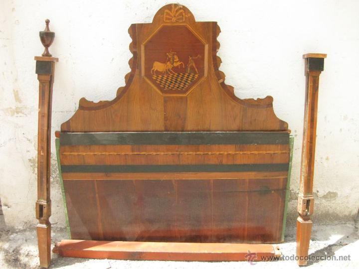 M s de 25 ideas incre bles sobre cabecero antiguo en - Reformar muebles viejos ...