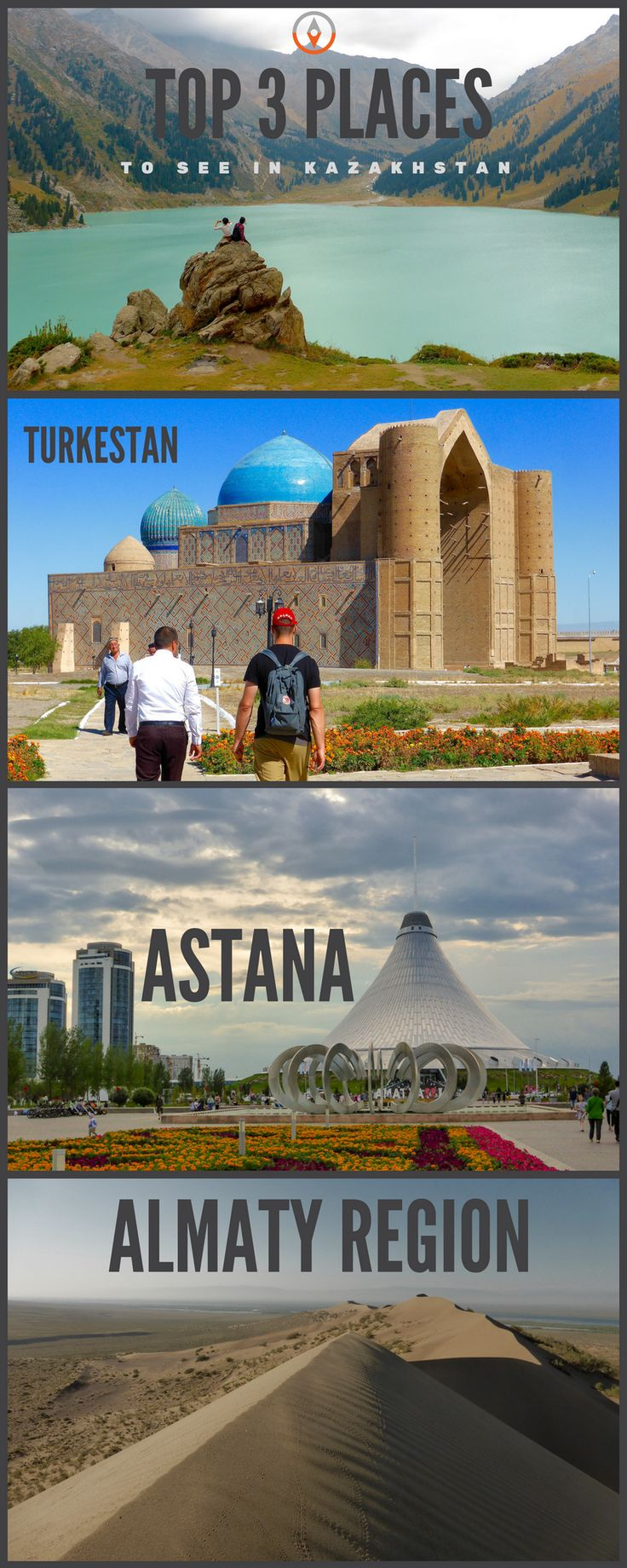 Top Places to see in Kazakhstan include Turkestan, Almaty and Astana. Combine historical heritage of the Silk Road with Soviet legacy and modern architecture in Astana