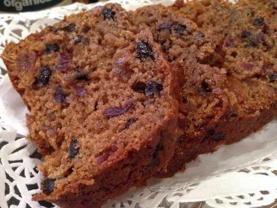 Newfoundland Dark Fruit Cake Recipe