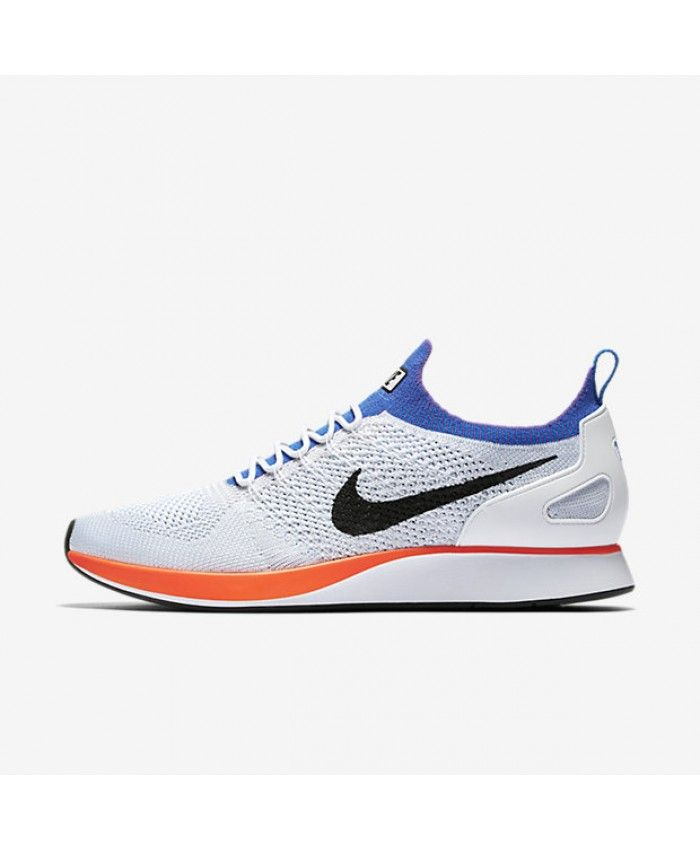 Nike Air Zoom Mariah Flyknit Racer White Pure Platinum Hyper Grape Hyper  Crimson 918264-100