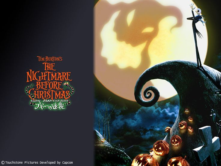 Image result for Nightmare Before Christmas Wallpaper