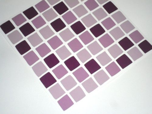 Mosaic Tile Transfers Stickers Self Adhesive Kitchen Bathroom No Tiling