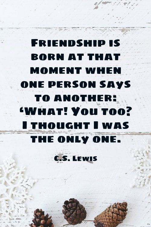 Cs Lewis Quote About Friendship Stunning The 25 Best Cs Lewis Quotes Friendship Ideas On Pinterest