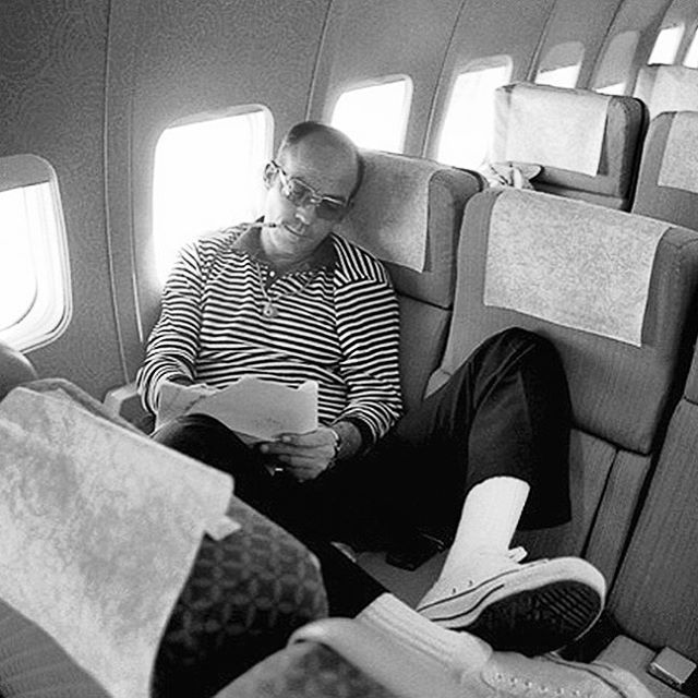 Hunter S. Thompson. Photograph by Arthur Grace