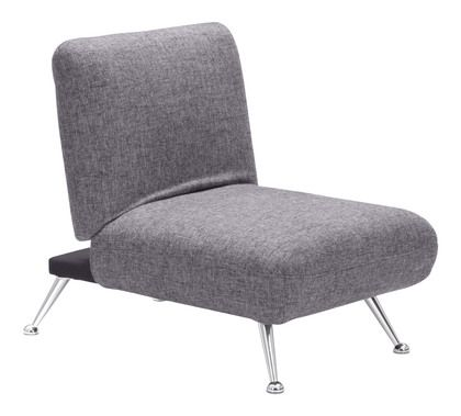 Zuo Modern Bizard Sleeper Chair Ash in Gray