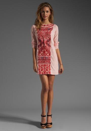 antik batik boho dress