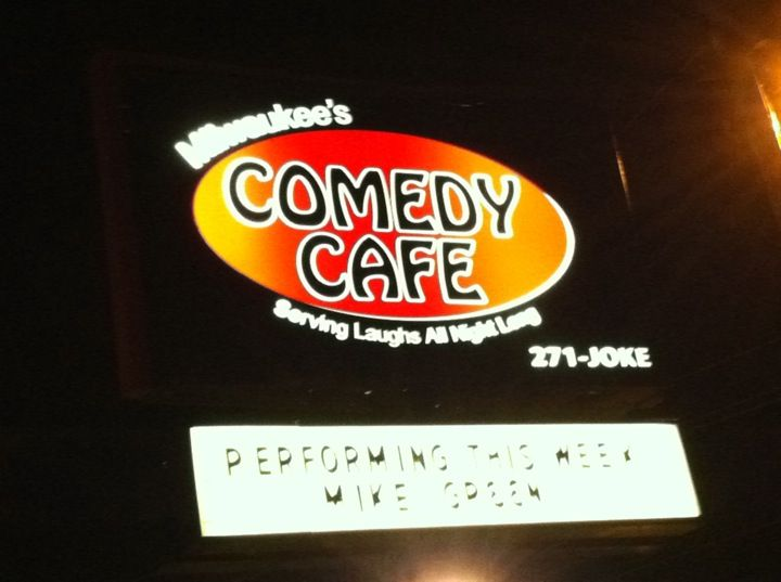 Comedy Cafe in Milwaukee, WI